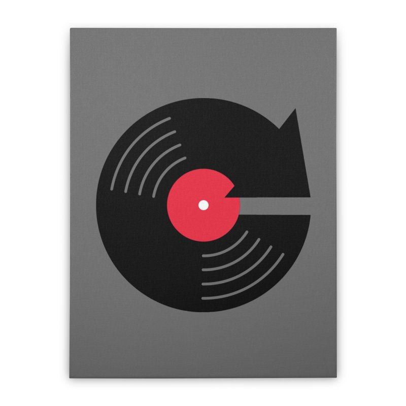 Replay Music Home Stretched Canvas by tshirtbaba's Artist Shop