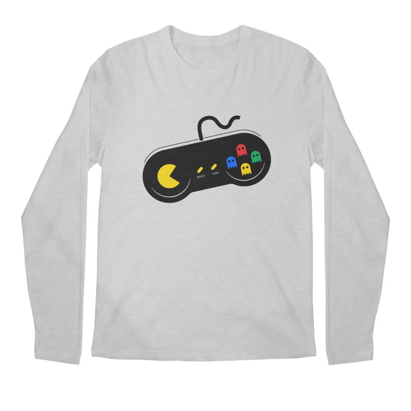 More ghosts and remotes Men's Regular Longsleeve T-Shirt by tshirtbaba's Artist Shop