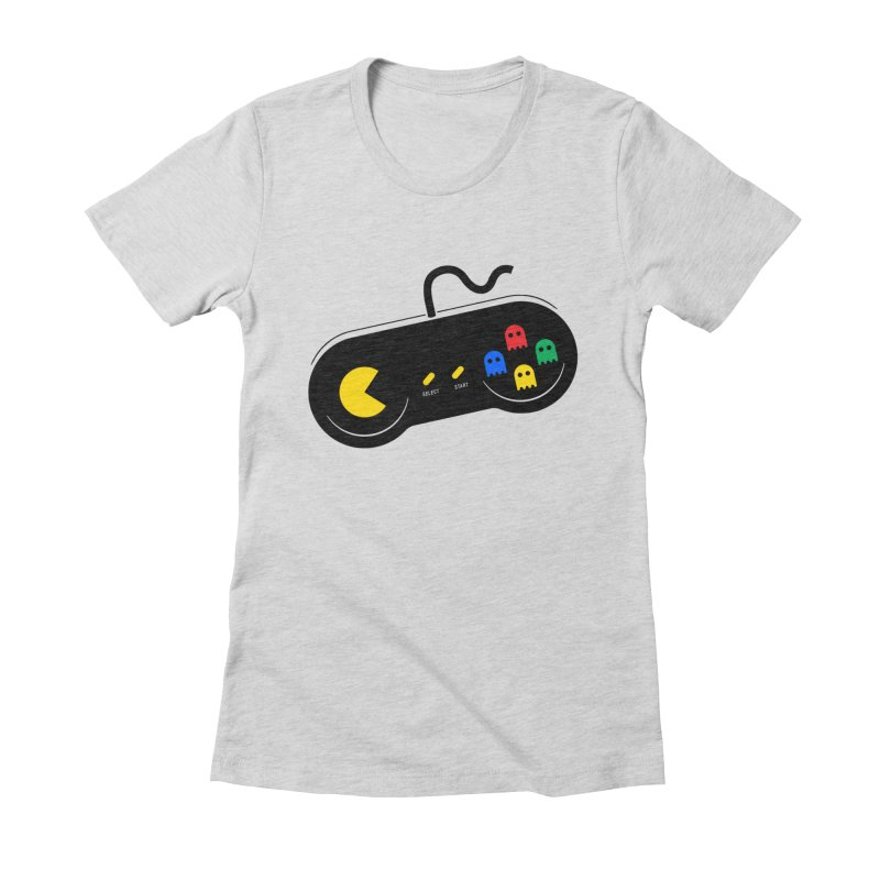 More ghosts and remotes Women's Fitted T-Shirt by tshirtbaba's Artist Shop