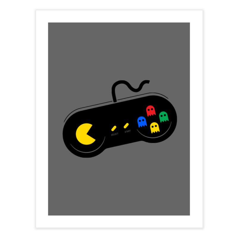 More ghosts and remotes Home Fine Art Print by tshirtbaba's Artist Shop