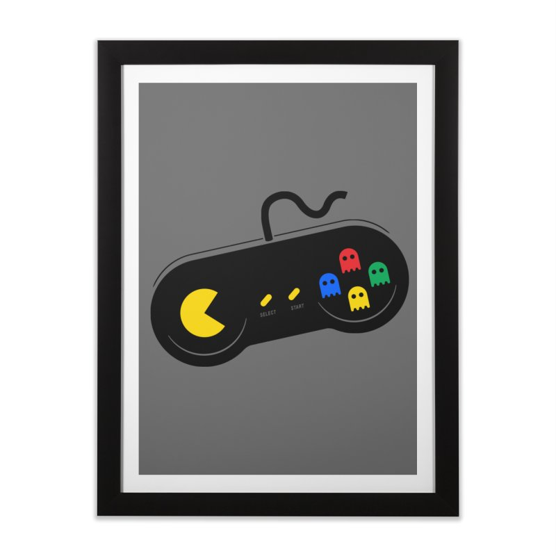 More ghosts and remotes Home Framed Fine Art Print by tshirtbaba's Artist Shop