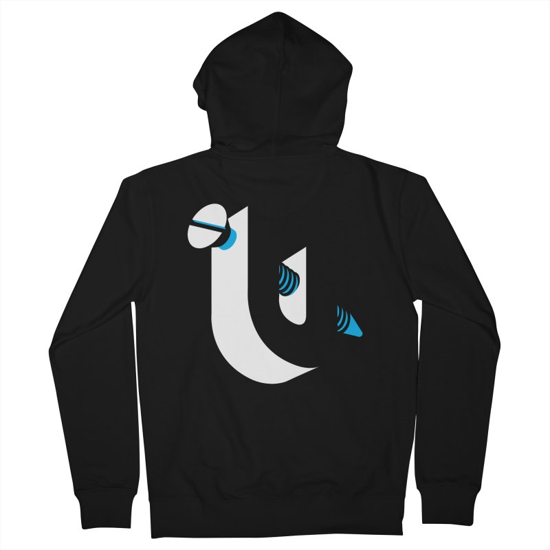 Screw U Men's Zip-Up Hoody by tshirtbaba's Artist Shop