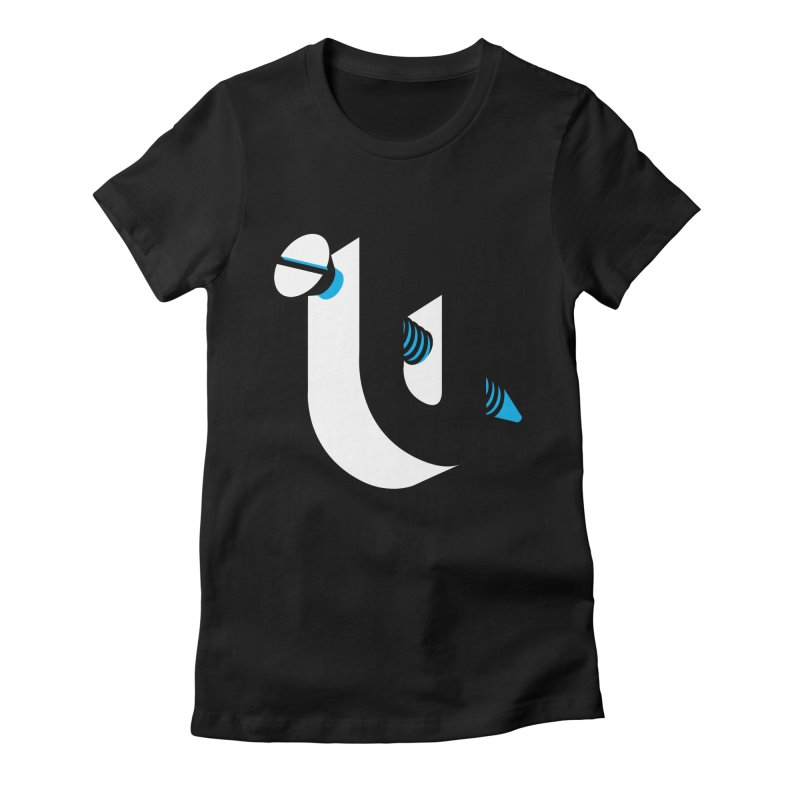 Screw U Women's Fitted T-Shirt by tshirtbaba's Artist Shop