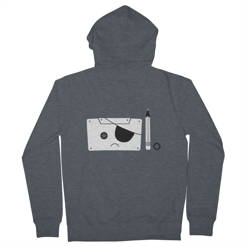 Met with an accident Women's French Terry Zip-Up Hoody by tshirtbaba's Artist Shop