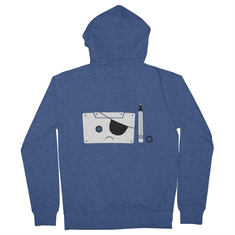 Met with an accident Men's Zip-Up Hoody by tshirtbaba's Artist Shop
