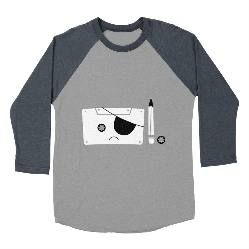 Met with an accident Men's Baseball Triblend T-Shirt by tshirtbaba's Artist Shop