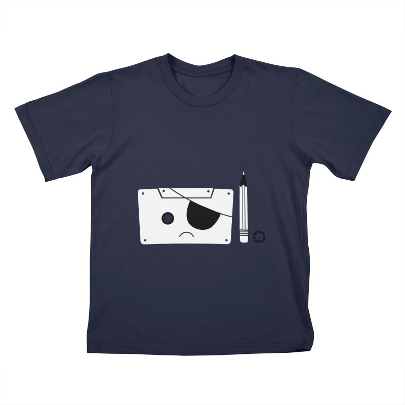 Met with an accident Kids T-Shirt by tshirtbaba's Artist Shop