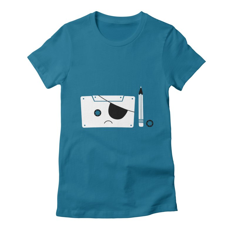 Met with an accident Women's Fitted T-Shirt by tshirtbaba's Artist Shop