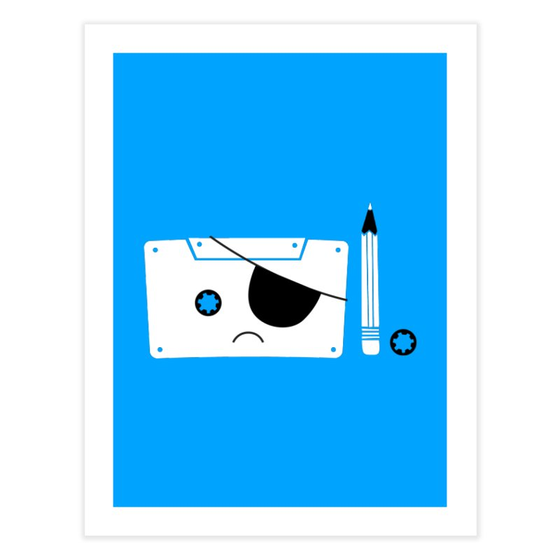 Met with an accident Home Fine Art Print by tshirtbaba's Artist Shop