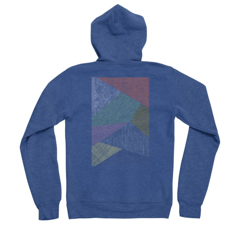 Pattern 2 Women's Zip-Up Hoody by The Mindful Tee