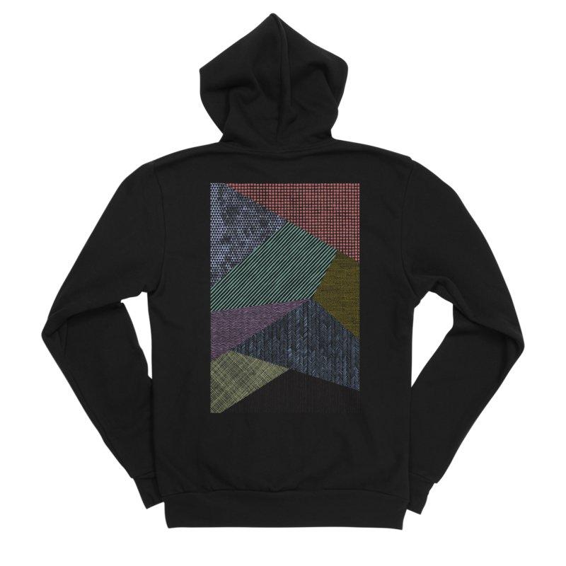 Pattern 2 Women's Sponge Fleece Zip-Up Hoody by The Mindful Tee