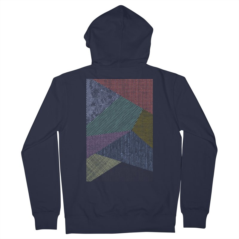 Pattern 2 Women's French Terry Zip-Up Hoody by The Mindful Tee