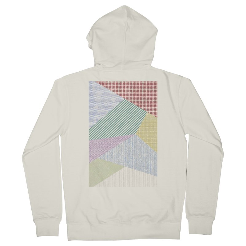 Pattern 2 Men's Zip-Up Hoody by The Mindful Tee