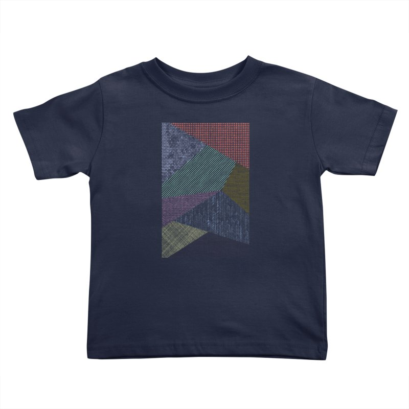 Pattern 2 Kids Toddler T-Shirt by The Mindful Tee