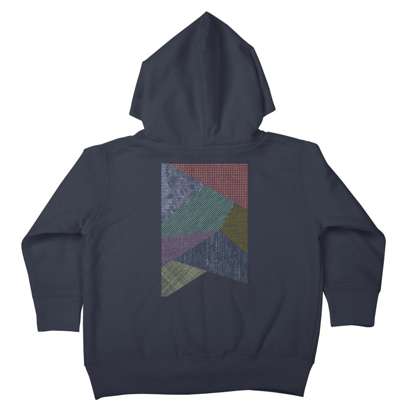 Pattern 2 Kids Toddler Zip-Up Hoody by The Mindful Tee