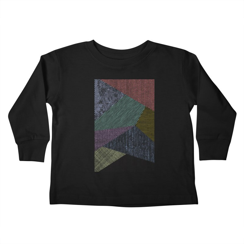 Pattern 2 Kids Toddler Longsleeve T-Shirt by The Mindful Tee