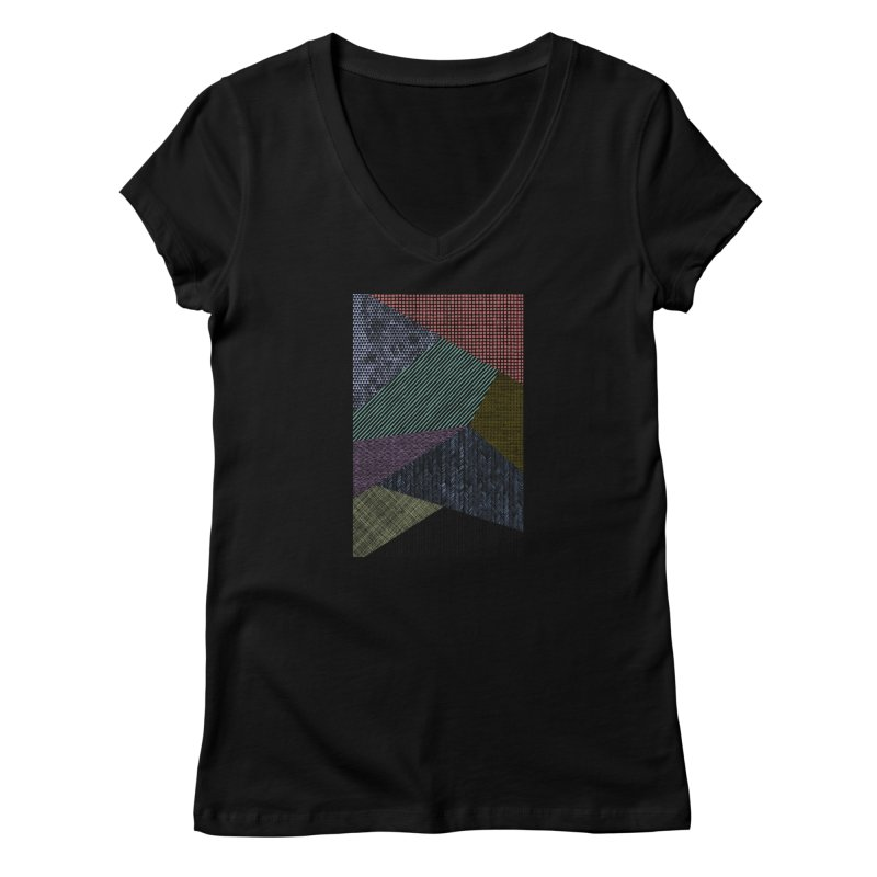 Pattern 2 Women's V-Neck by The Mindful Tee