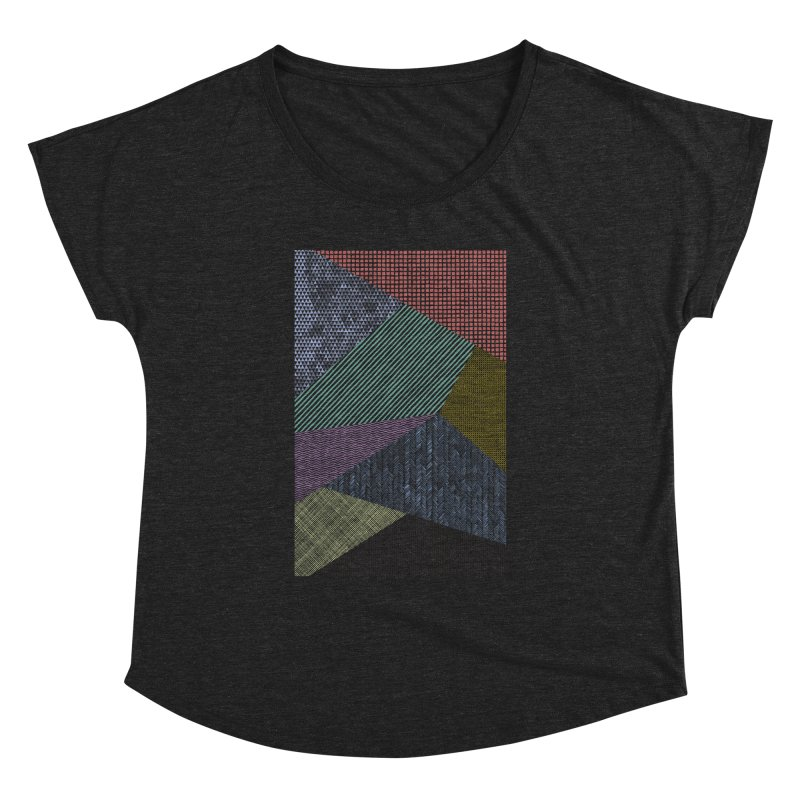 Pattern 2 Women's Scoop Neck by The Mindful Tee