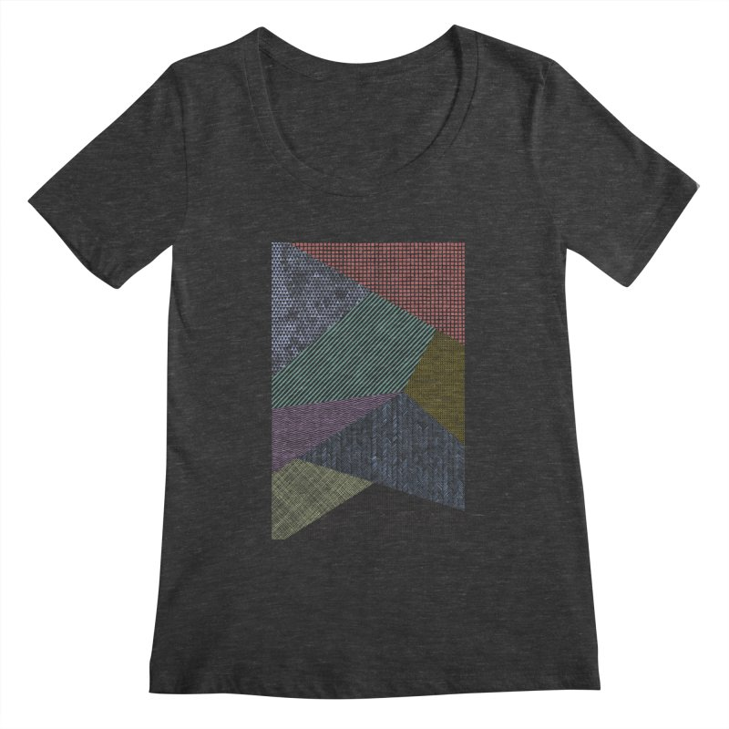 Pattern 2 Women's Scoopneck by The Mindful Tee