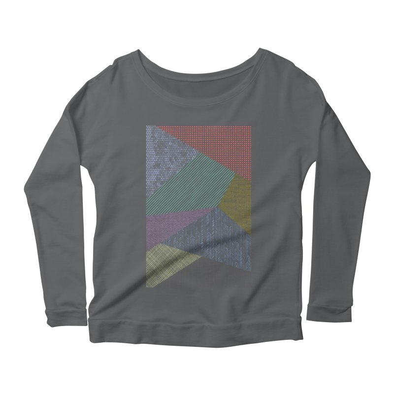 Pattern 2 Women's Longsleeve Scoopneck  by The Mindful Tee