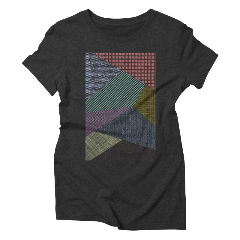 Pattern 2 Women's Triblend T-Shirt by The Mindful Tee