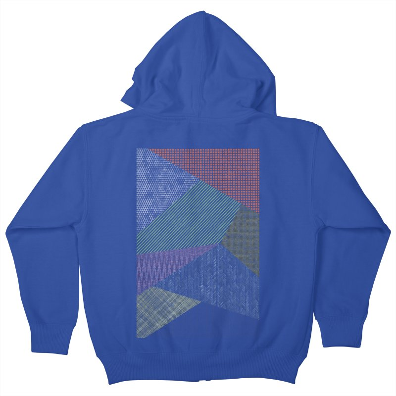 Pattern 2 Kids Zip-Up Hoody by The Mindful Tee