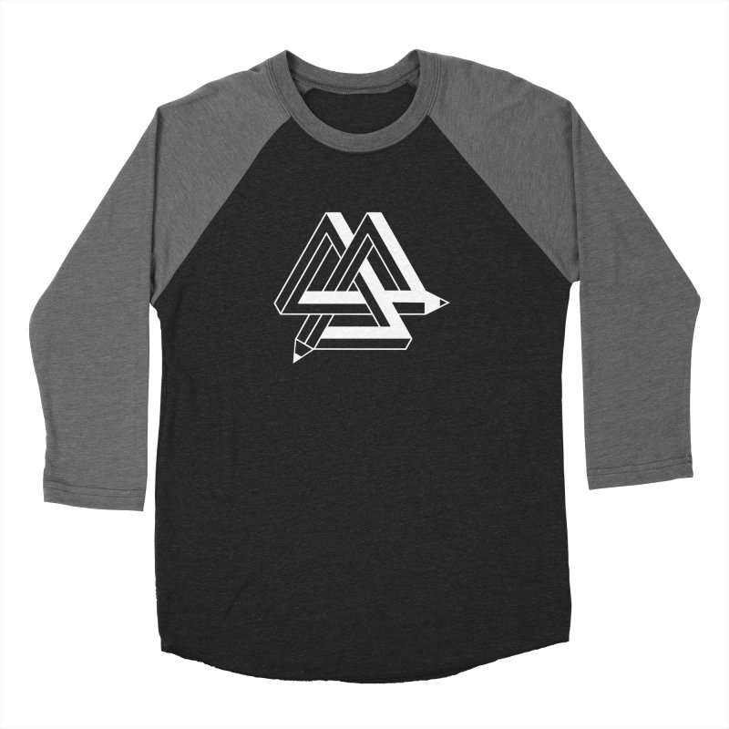 Illusion Women's Baseball Triblend Longsleeve T-Shirt by The Mindful Tee