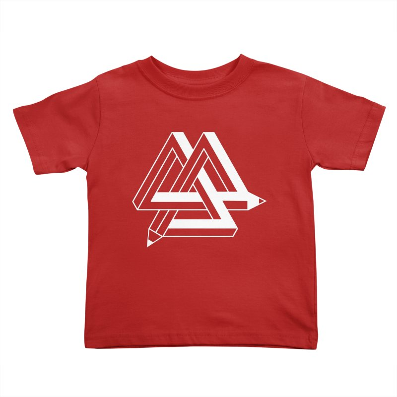 Illusion Kids Toddler T-Shirt by The Mindful Tee