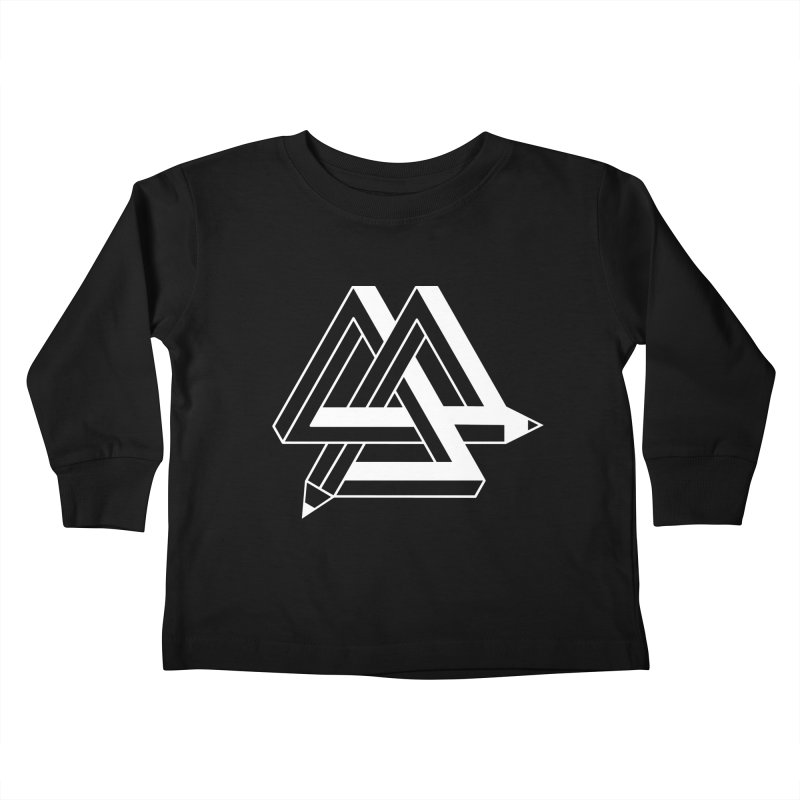 Illusion Kids Toddler Longsleeve T-Shirt by The Mindful Tee