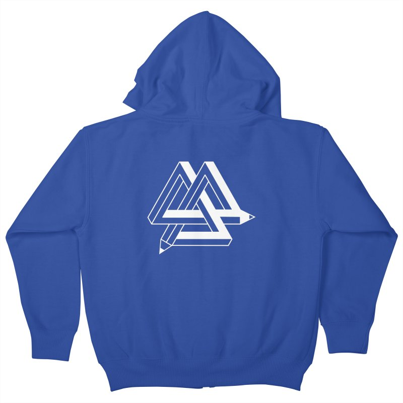 Illusion Kids Zip-Up Hoody by The Mindful Tee