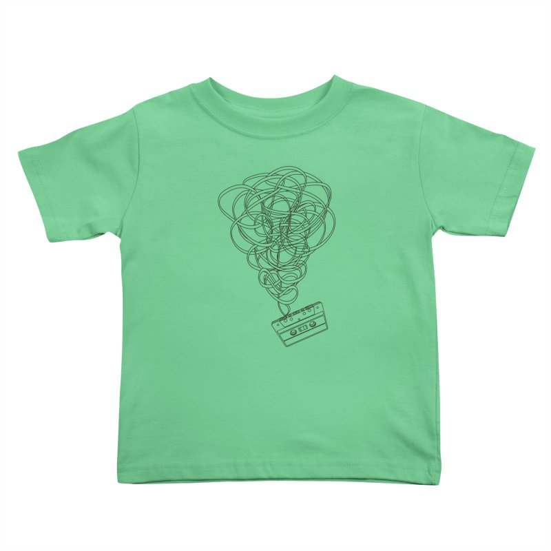 Remix Kids Toddler T-Shirt by The Mindful Tee