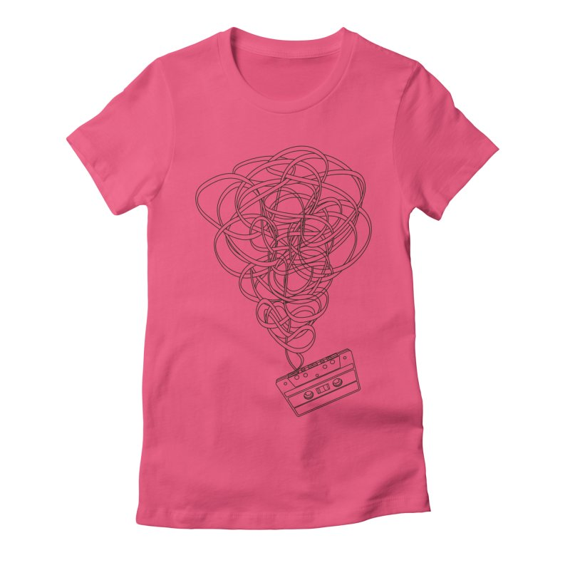 Remix Women's Fitted T-Shirt by The Mindful Tee