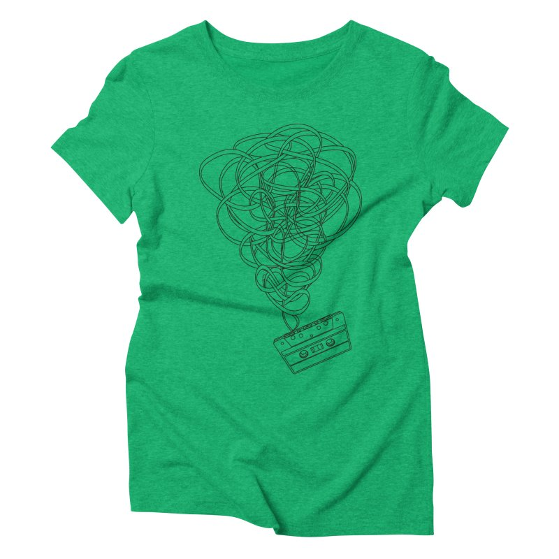 Remix Women's Triblend T-Shirt by The Mindful Tee