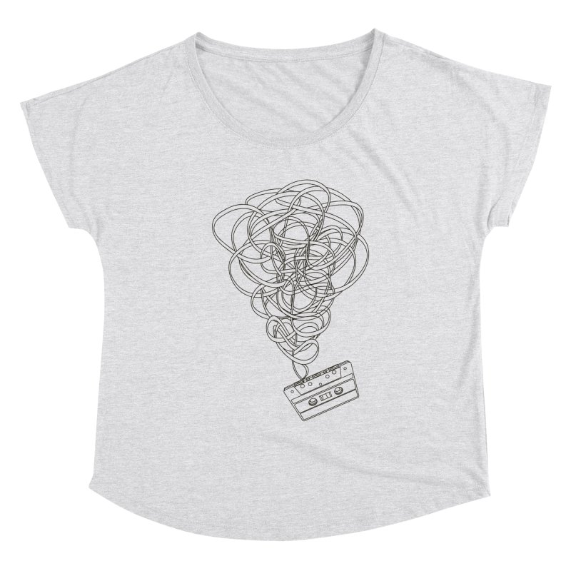Remix Women's Scoop Neck by The Mindful Tee
