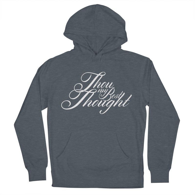 Thou My Best Thought Men's Pullover Hoody by Tie Them As Symbols