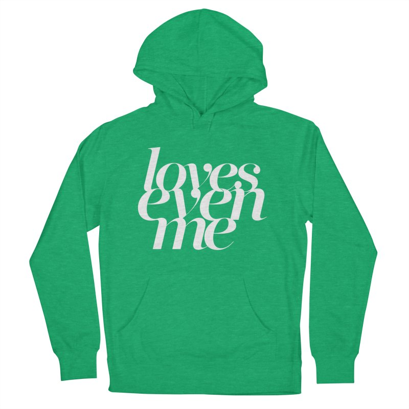Loves Even Me Men's Pullover Hoody by Tie Them As Symbols
