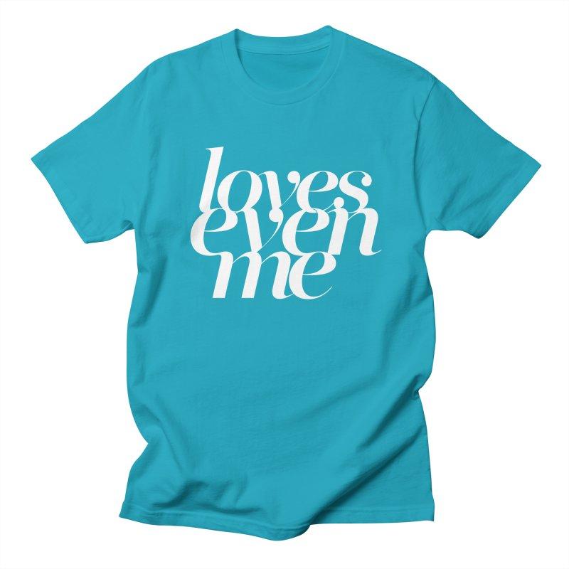 Loves Even Me Men's Regular T-Shirt by Tie Them As Symbols