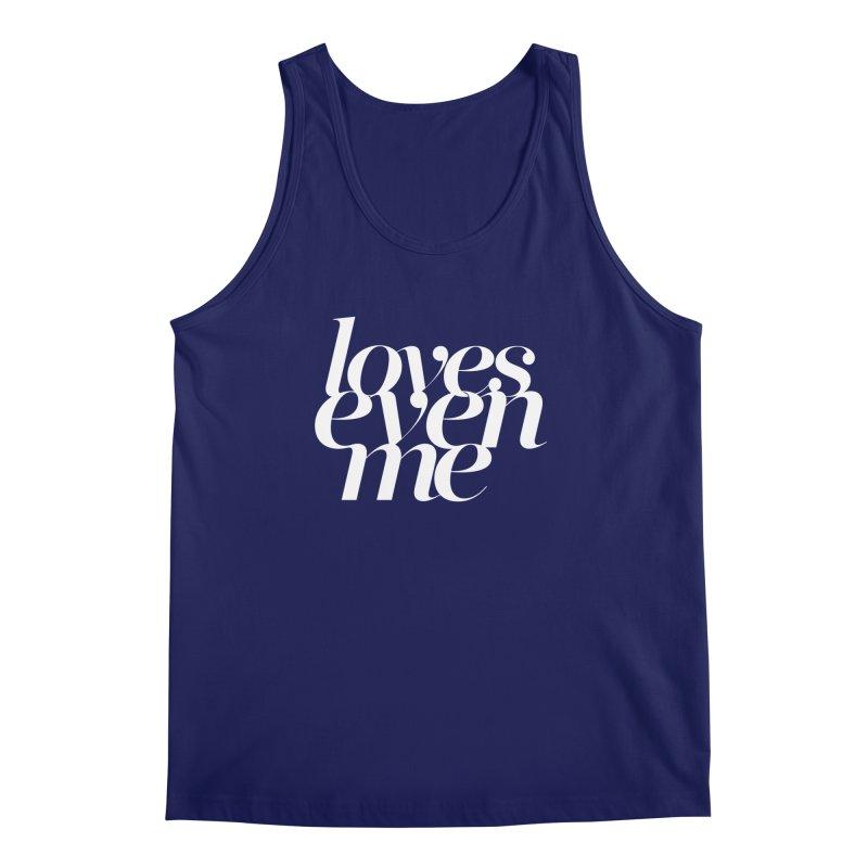 Loves Even Me Men's Regular Tank by Tie Them As Symbols