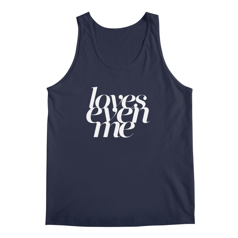 Loves Even Me Men's Regular Tank by Tie Them As Symbols