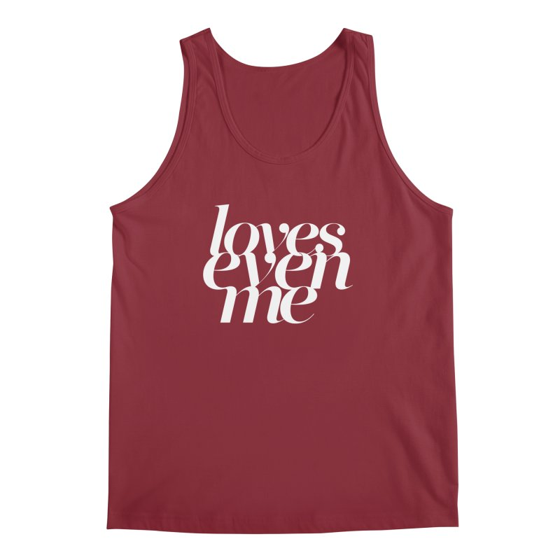 Loves Even Me Men's Tank by Tie Them As Symbols