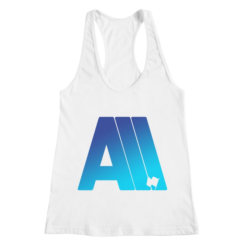I Surrender All Women's Racerback Tank by Tie Them As Symbols