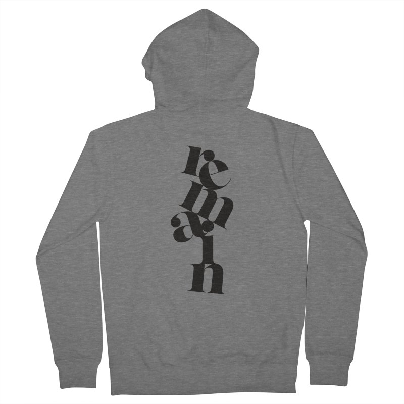 Remain Women's Zip-Up Hoody by Tie Them As Symbols