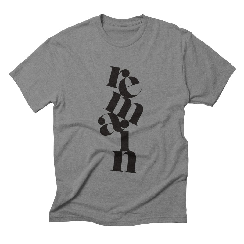 Remain Men's Triblend T-shirt by Tie Them As Symbols