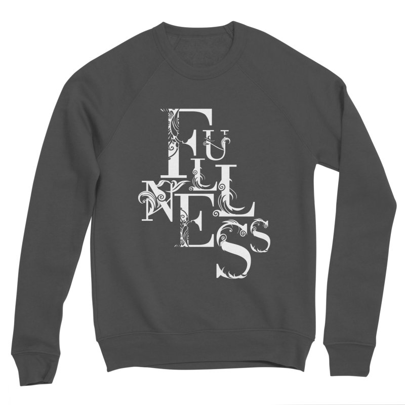 Fullness Men's Sponge Fleece Sweatshirt by Tie Them As Symbols