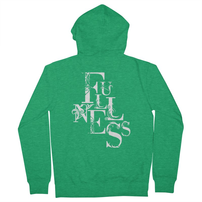 Fullness Women's Zip-Up Hoody by Tie Them As Symbols
