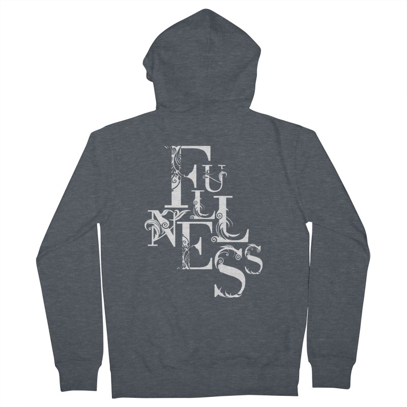 Fullness Women's French Terry Zip-Up Hoody by Tie Them As Symbols