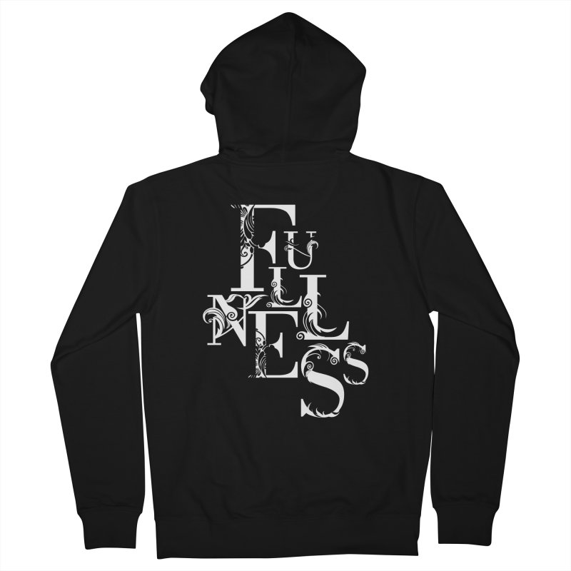 Fullness Men's French Terry Zip-Up Hoody by Tie Them As Symbols