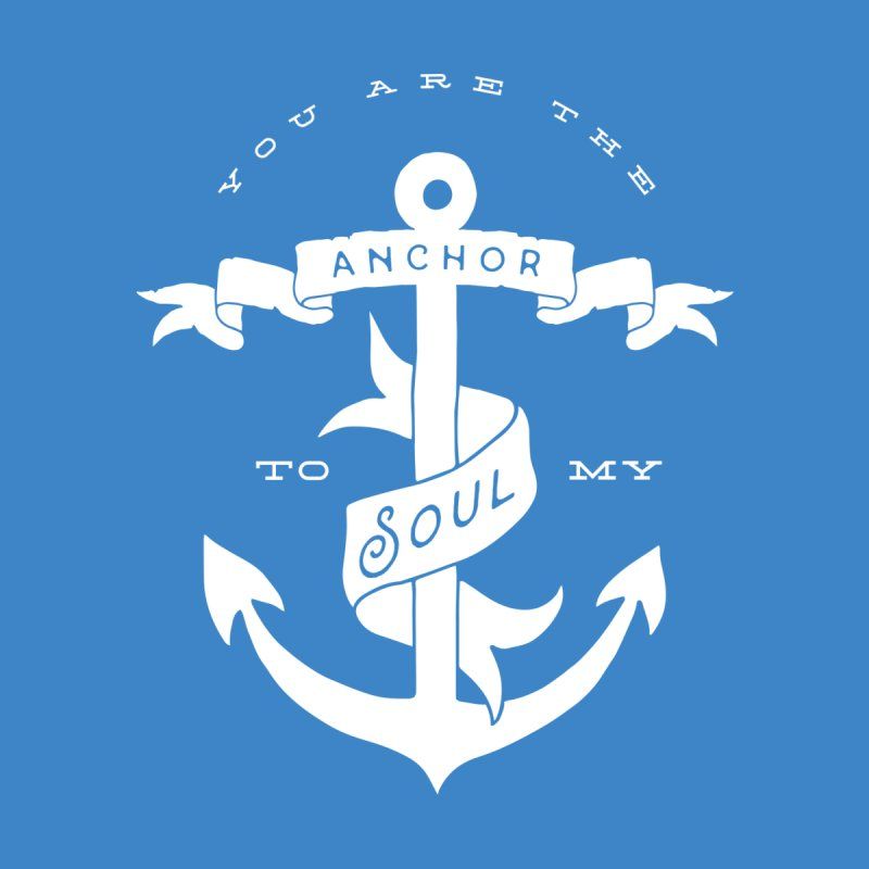 Anchor To My Soul Men's T-Shirt by Tie Them As Symbols