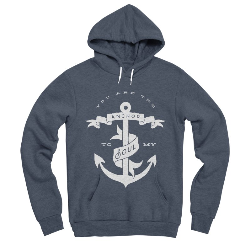 Anchor To My Soul Women's Sponge Fleece Pullover Hoody by Tie Them As Symbols