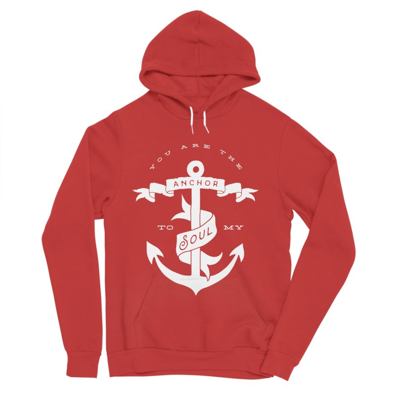 Anchor To My Soul Men's Pullover Hoody by Tie Them As Symbols